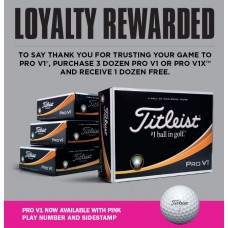 Titleist Pro V1 or Pro V1x Special Offer