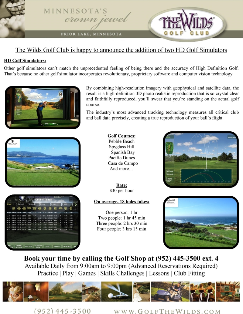 HD Golf Simulators
